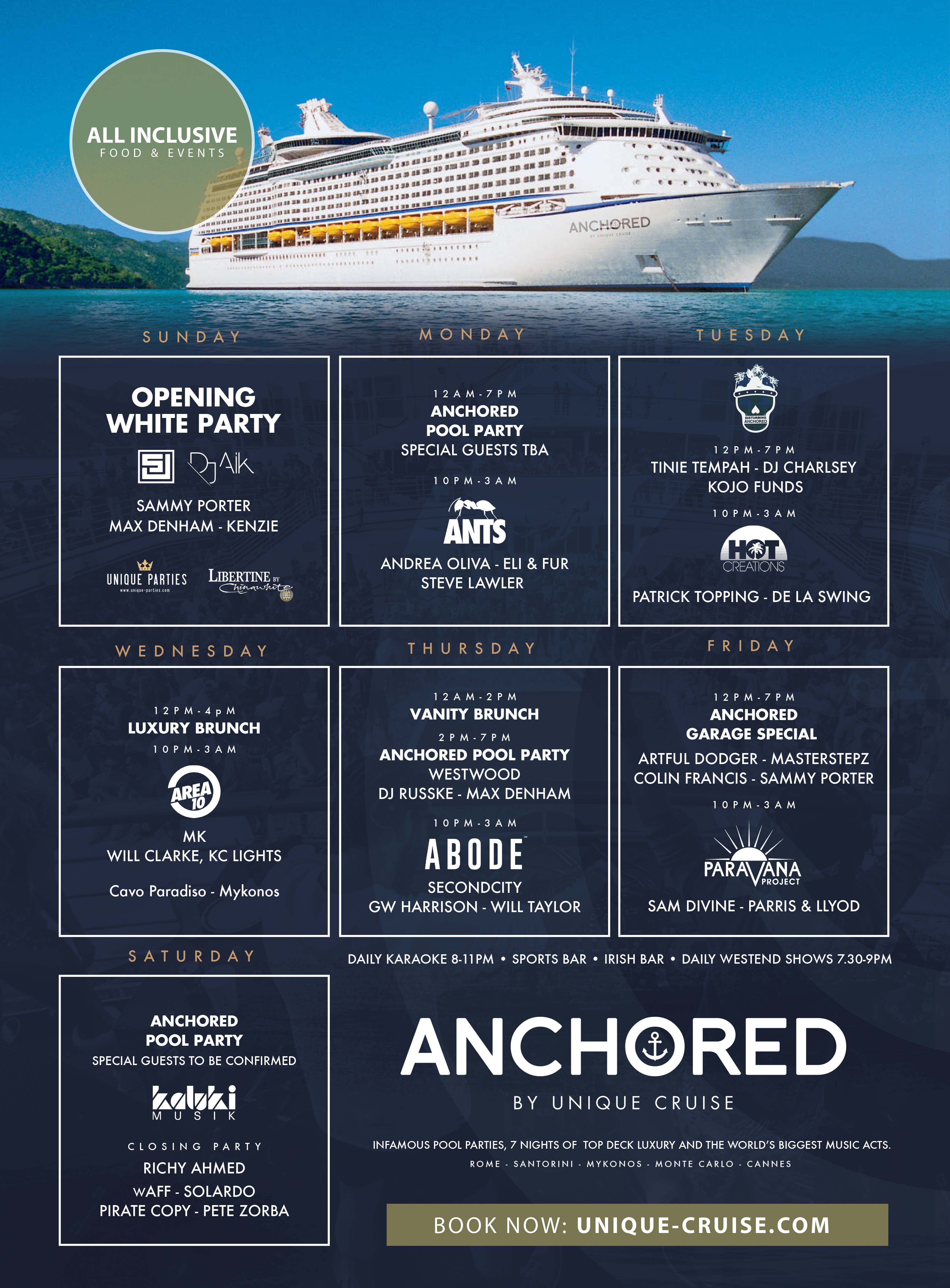Anchored Cruise 2017