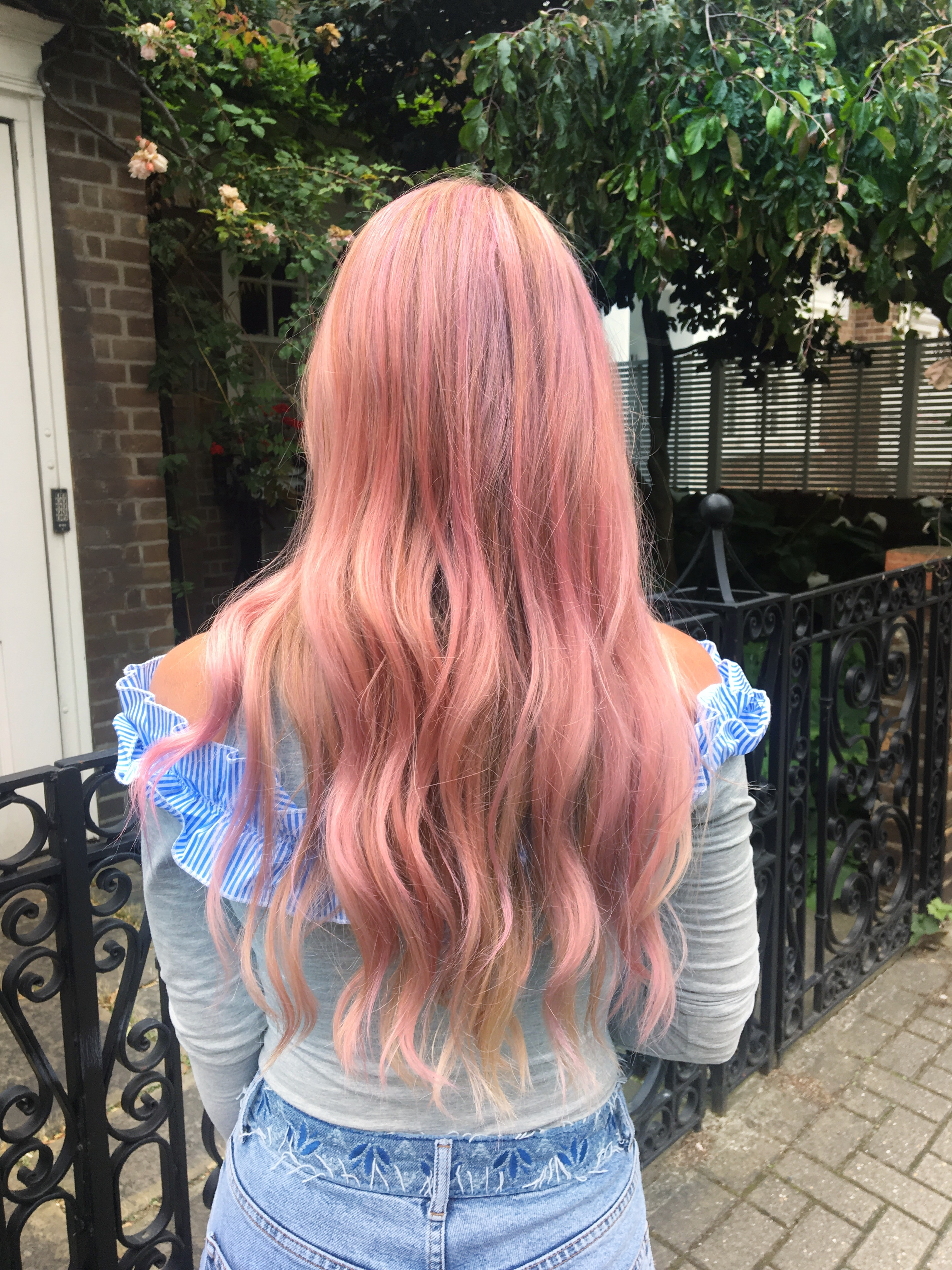 FESTIVAL READY : PINK PASTEL HAIR | the belle abroad